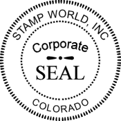 Offering Corporate Seal Stamps And Embossers For As Low 1795 Available All 50