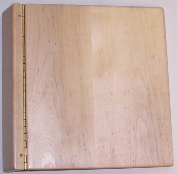 Wood Menu (3 Ring Binder