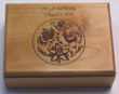 Offering custom engraved wood logo gift boxes.  Our personalized gift boxes can have any art work or logo or even pictures engraved onto them.  They make unique gifts and appreciation products for employees and clients.