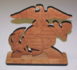DESKTOP-EAGLE TOPPER - Marine Eagle Table Topper (11 x 11 inches)