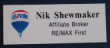 RMBE-REMAX - RE/MAX Name Tag