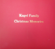 ALBUM-CHRISTMAS - Personalized Christmas Memory Books