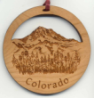 Offering custom mountain Christmas ornaments. Personalized mountain ornaments make unique Christmas gifts during the holidays!